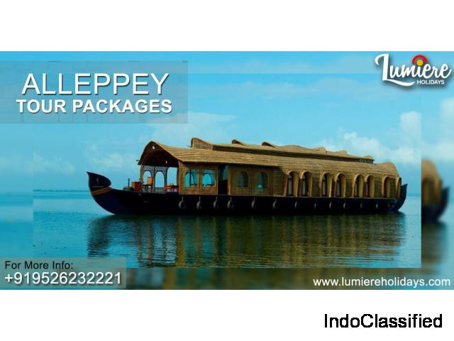 2 Nights 3 Days Athirapally Alleppey Houseboat Kerala Tour Packages
