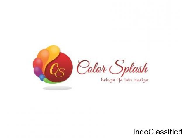 Color Splash Graphic Design Company in Delhi
