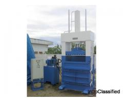 Horizontal Paper Baling Press - Horizontal Bagging Press.