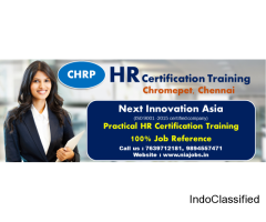 (CHRP)Certified HR Training in Chennai, Chromepet