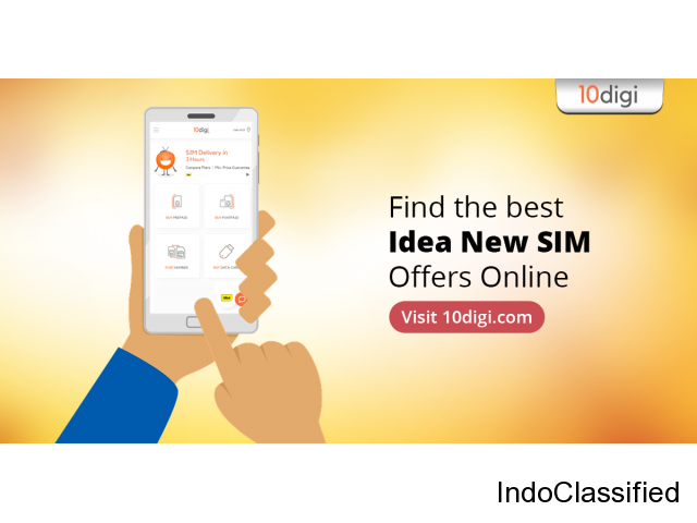 Get Idea SIM delivered to your doorstep