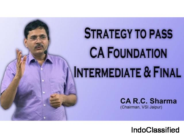 Strategy To Pass CA Foundation, Intermediate & Final Exam