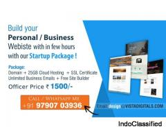 Domain + 25GB Hosting + SSL + Site Builder at Rs. 1500