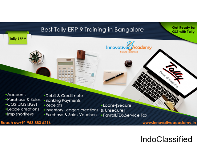 Tally Training Get Ready for GST with Tally ERP 9.0
