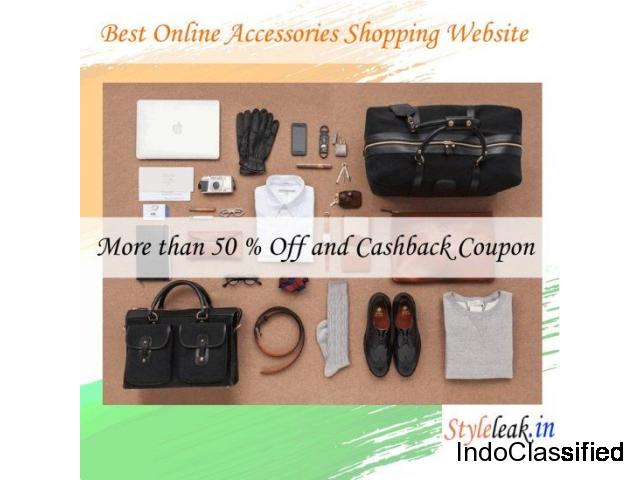 Online accessories shopping website