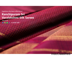 Year End Sale - Kanchipuram Sri Varalakshmi Silk Sarees