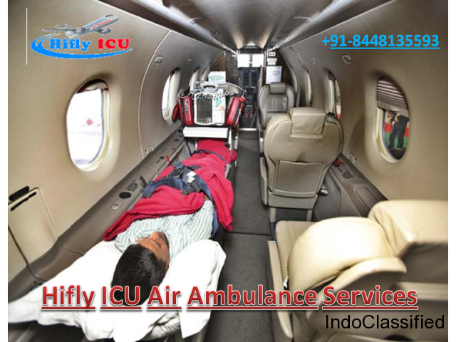Transfer Patient by Hifly ICU Air Ambulance in Kolkata