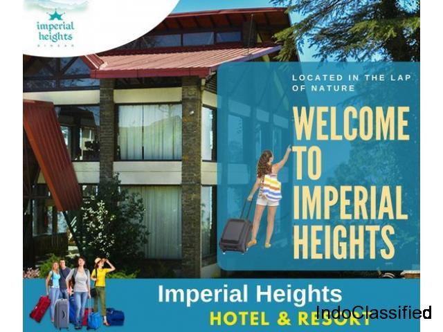 Best Hotel In Ramnagar & Imperial Heights Binsar Ramnagar