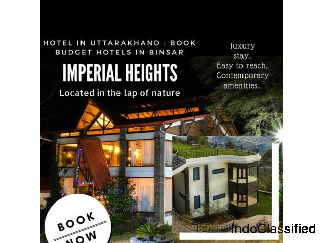 Best Hotel In Ramnagar & Imperial Heights Binsar Ramnagar