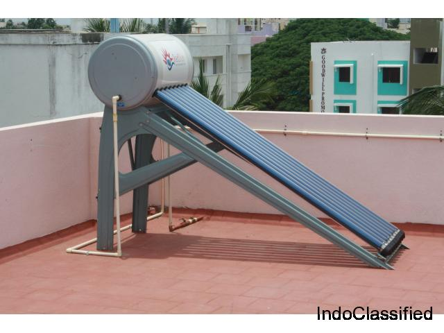 Solar Water Heater Price in Chennai, Coimbatore, India
