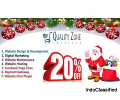 Christmas Website Design & Development Special Offer 20% OFF