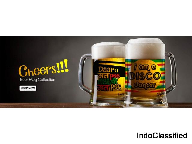 Shop Bollywood t-shirts, merchandise,beer mugs and many more on yedaz.com