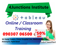 Online Tableau Training in Hyderabad