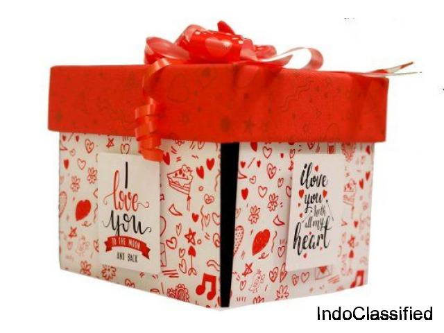 Love Explosion Box | Online birthday gifts | Online Christmas Gifts | Online New Year Gifts
