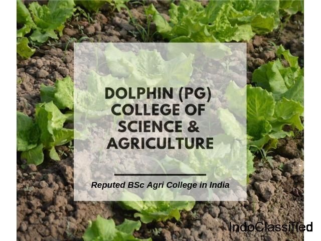 Reputed BSc Agri College in India