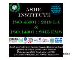 iso 45001:2015 Lead Auditor Training at ASHEInstitute, Kochi