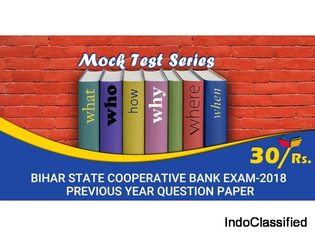 Bihar State Cooperative Bank Preliminary Examination Mock Test online