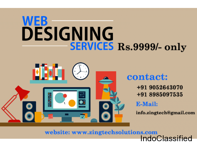 Creative Website Designing at low cost