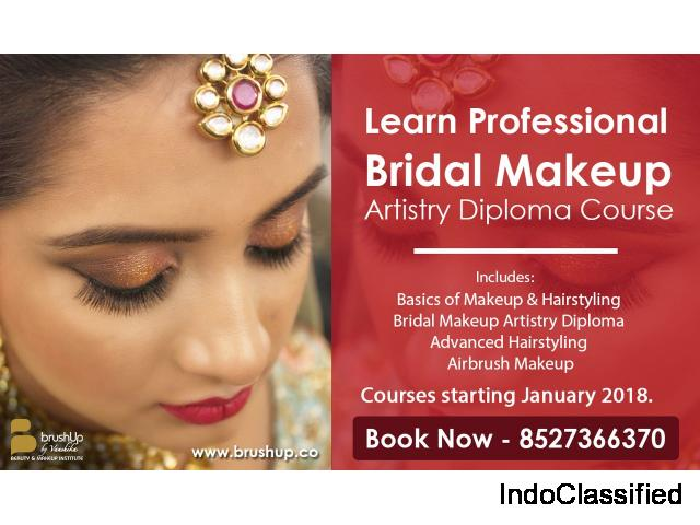 Professional makeup course in gurgaon