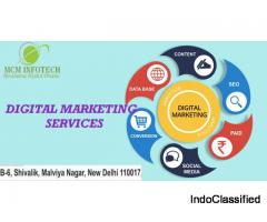 Top Digital Marketing services Offering MCM Infotech.