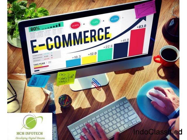 Top ECommerce Website Services Offering MCM Infotech.