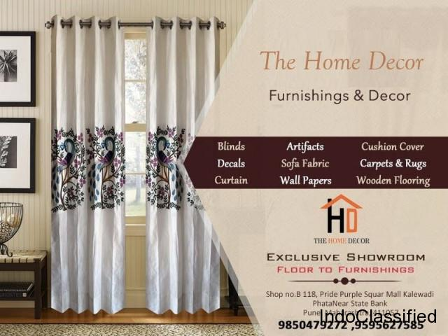 Curtains Shop in Kalewadi | The Home Decor Pune
