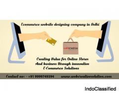 Ecommerce website designing company in Delhi
