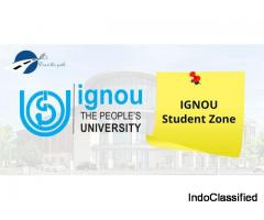 IGNOU Student Zone | Question Papers | Assignment | Grade Card