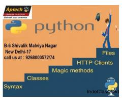 Aptech Malviya Nagar offers Python Training Classes