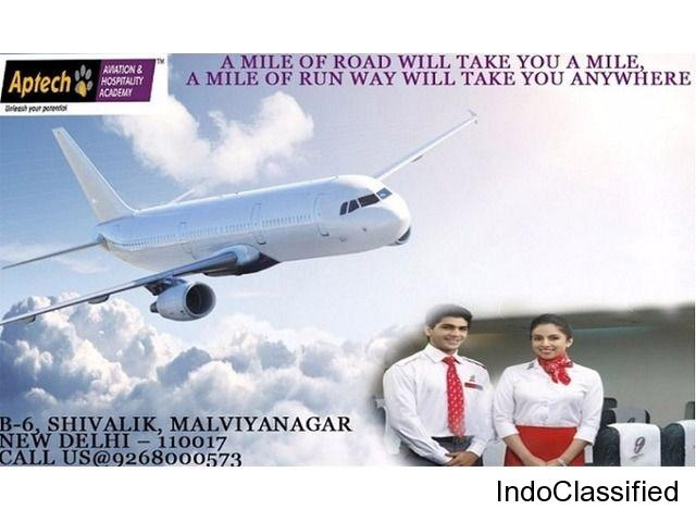 Aviation Training Institute in South Delhi Aptech Malviya Nagar