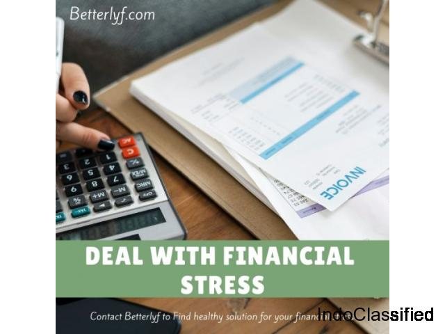 Get Help with Financial Stress | Online Counseling and Therapy BetterLYF
