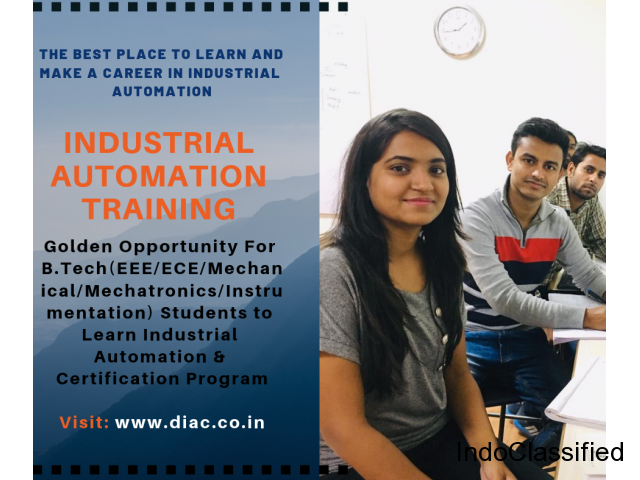 DIAC Automation Training Placement Jobs | PLC SCADA Industrial Automation Training Course