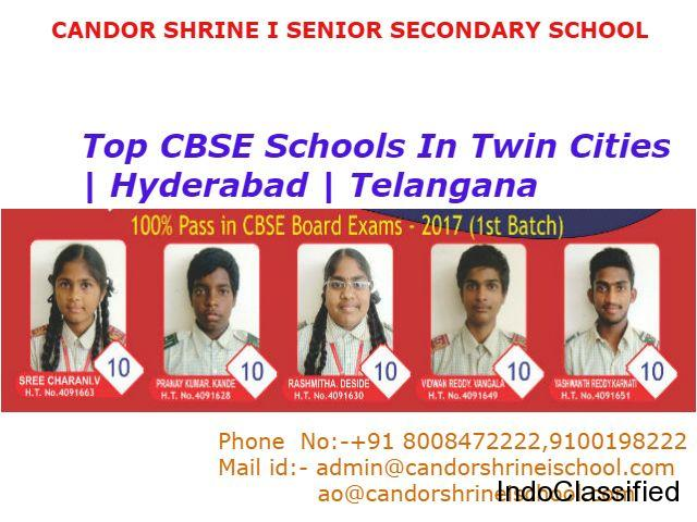 Top CBSE Schools in Twin Cities