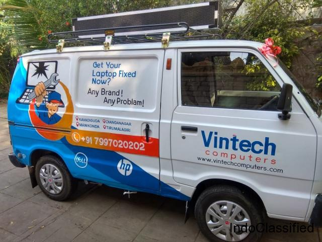 Vintech Computers Launches Service on Wheels Initiative in Hyd