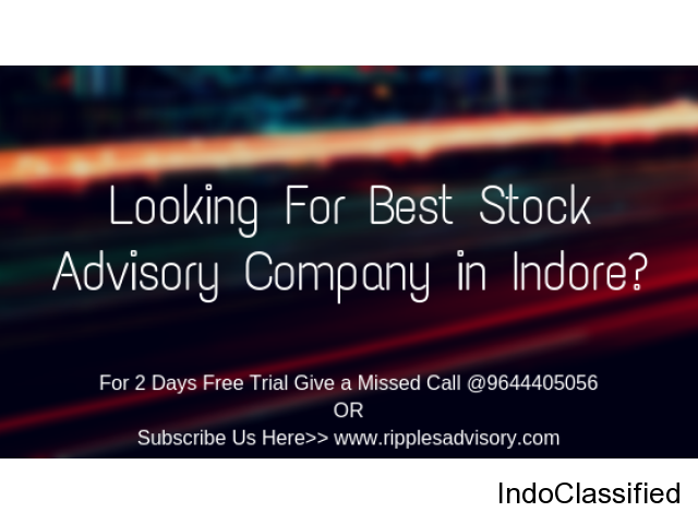 Looking For Stock Advisory Company in Indore?