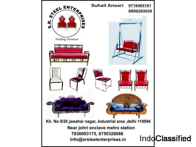 wedding steel items with best price on whole sale...