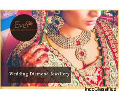 Real Diamond Jewellery, Bridal Diamond Jewellery, Wedding Diamond Jewellery