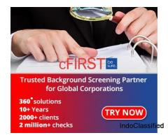 Top Employee Background Verification and Screening Company | cFIRST