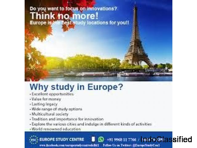 Europe Study Centre – Overseas Education Consultants