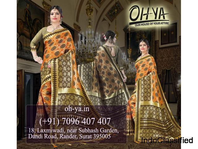 Heavy Range Banarasi Saree | Original Banarasi Saree for Sale - OHYA