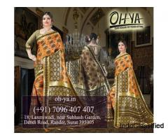 Heavy Range Banarasi Saree | Original Banarasi Saree for Sale - OHYA