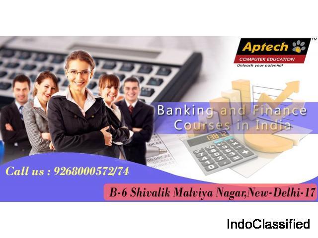 In Delhi best Banking and Finance Training Institute | Aptech Malviya Nagar