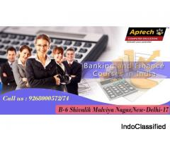 In Delhi best Banking and Finance Training Institute | Aptech Malviya Nagar