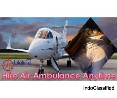 Get Reliable Trauma Care Air Ambulance from Guwahati by Lifeline at Low Cost
