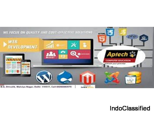 Aptech Malviya Nagar offers best Web Development Course