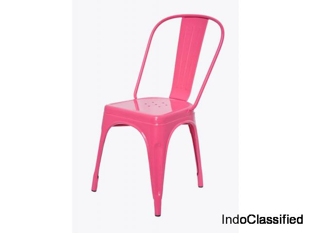 Buy wooden and metal chair online at Dezaro shop now.