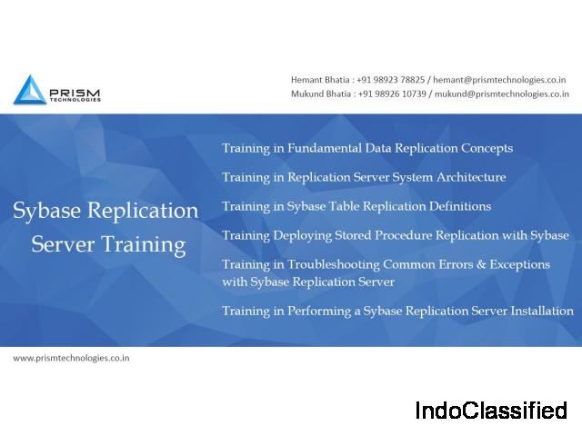 Sybase Replication Training Mumbai Pune Bangalore Delhi Chennai India