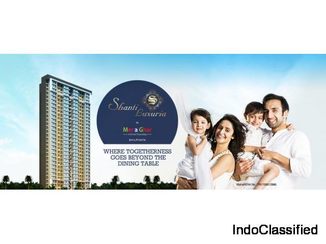 1 BHK flats for sale in Dombivli, Navi Mumbai-Mera Ghar