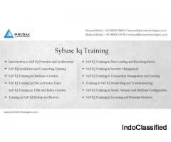 Sybase IQ Training Mumbai Pune Bangalore Delhi Chennai India