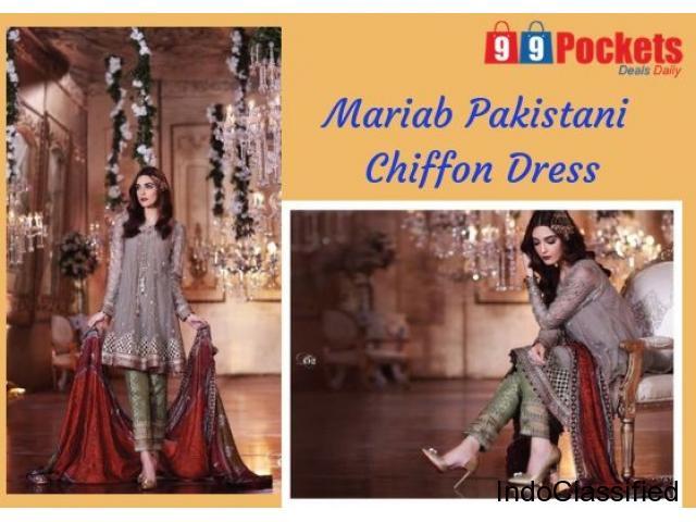 Buy Mariab Pakistani Dress